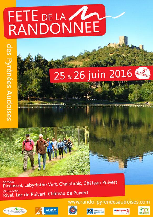 Fête de la Randonnée des Pyrénées Audoises - 25 et 26 juin 2016