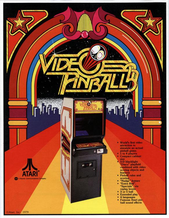 Video Pinball arcade