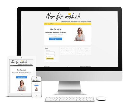 Gesundheits-Onlinecoaching - nur für mich.ch