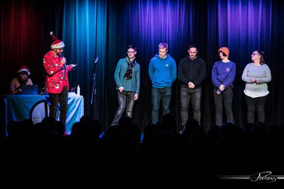 Die Jury im Saal des Südpunkts. Foto: Valentin Olpp