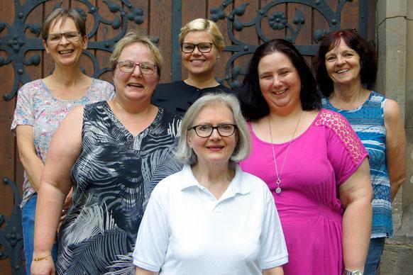 Die weiteren Vorstandsmitglieder vom Verein Rückenwind