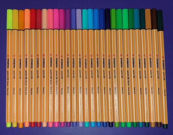Stabilo Point 88 Fineliner Marker Pen