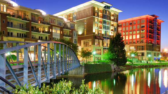 Greenville, SC's version or a River Walk. Not bad,huh? We love South Carolina, too.