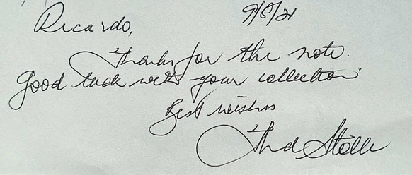 Autograph Fred Stolle Autogramm
