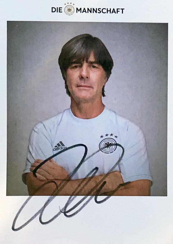 Autograph Jogi Löw Autogramm