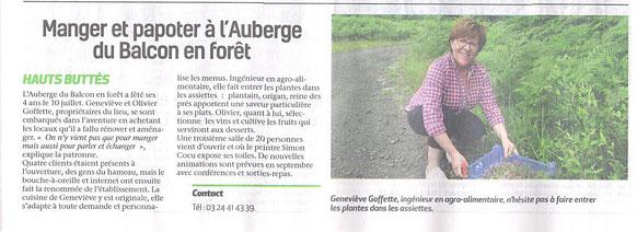 Semaine des Ardennes du jeudi 19 juillet 2017