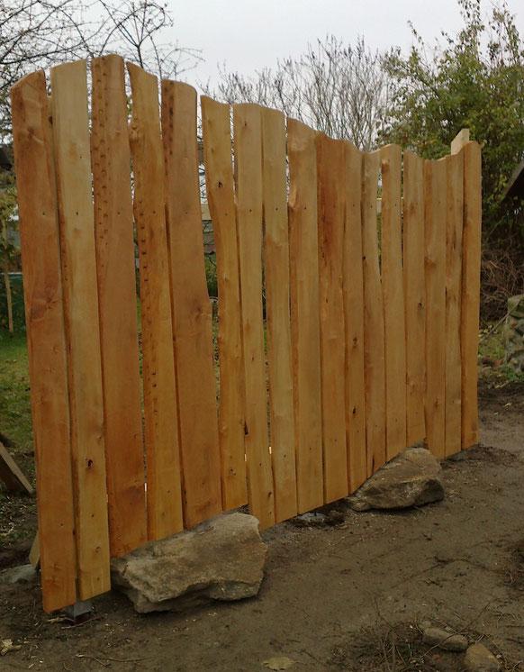 ein etwas anderer Zaun