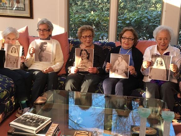 L-R: Bea, Bette, Roz, Jackie, Rhoda