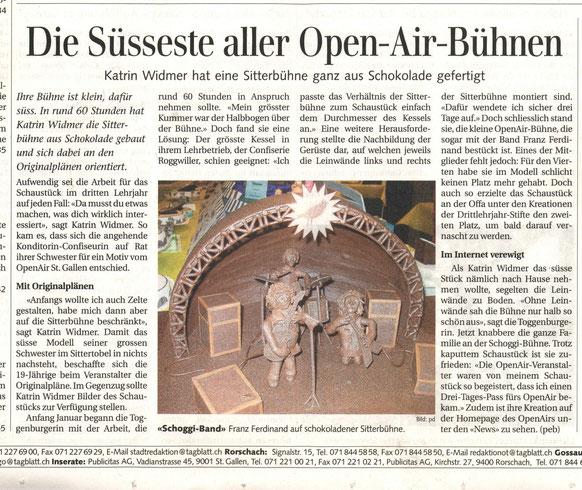 Lehrlingsarbeit 2007 im SG-Tagblatt