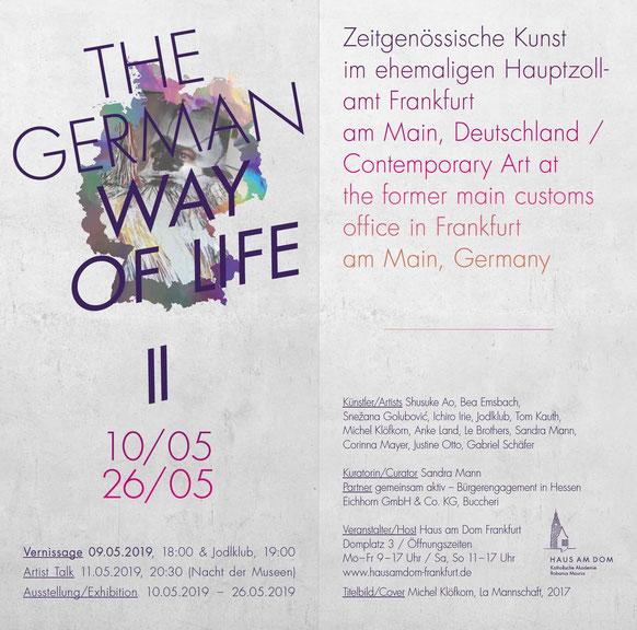 Gruppenausstellung mit Beteiligung Justine Otto