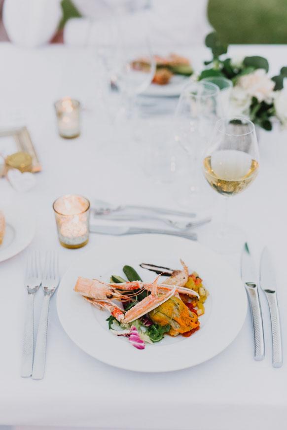 Французское свадебное меню - стартер