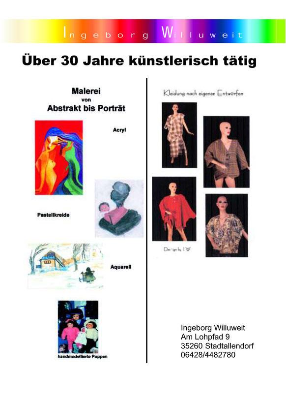 Künstlerportrait Ingeborg Willuweit
