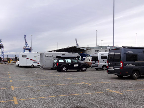 Da ist ER, unser Zuhause im Hafen von Baltimore