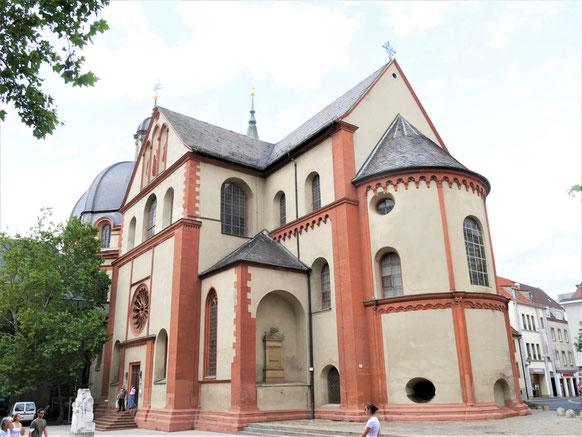 Würzburg Sehenswürdigkeiten: St. Kilian Dom von außen...