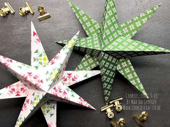 Diy 3d Weihnachtsstern Cookies Craft Co