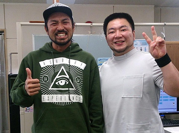 高井隆司選手(プロスノーボーダー)と
