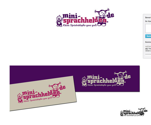 Unser neues Mini-Sprachhelden-Logo!