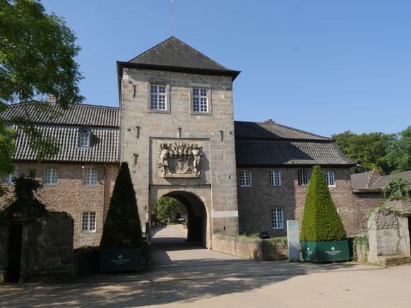 Wsserschloss Dyck am Niederrhein