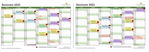Seminar-Kalender 2021