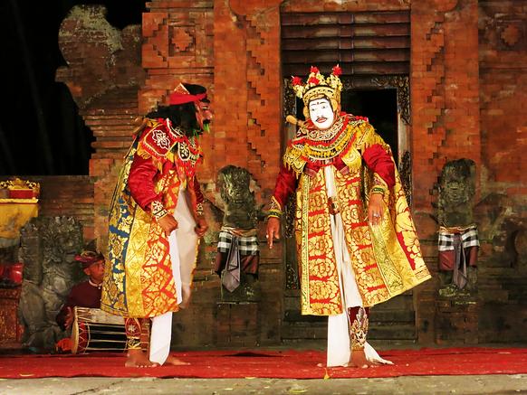 Balinesische Tanzvorführung