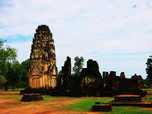 Ruine des Wat Phra Phai Luang