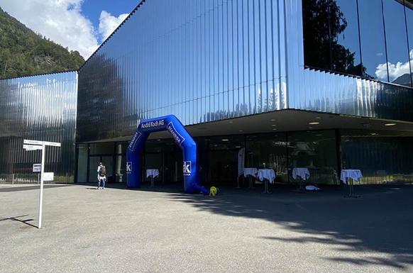 Lieu de l'évènement: Le centre de congrès d'Interlaken.