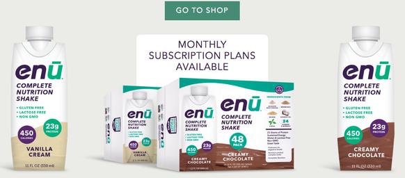 ENU complete nutrition shake, best nutrition and value