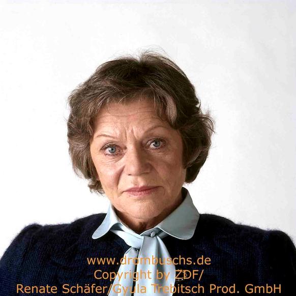 Grete Wurm spielte in allen 39 Folgen der Serie Oma Margarethe Drombusch