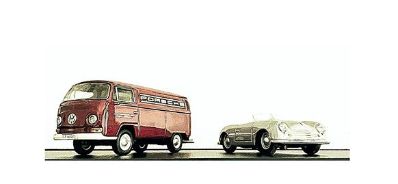 Zeichnung mit Kreide auf Papier nach Fotovorlage von Ralf Schollenberger