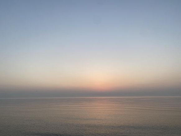 Sonnenaufgang in Ballen – Samsø 2021