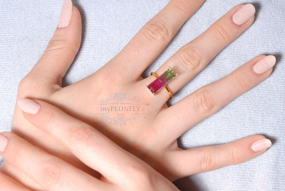 ringe fingerring perlen edelsteine silber vergoldet
