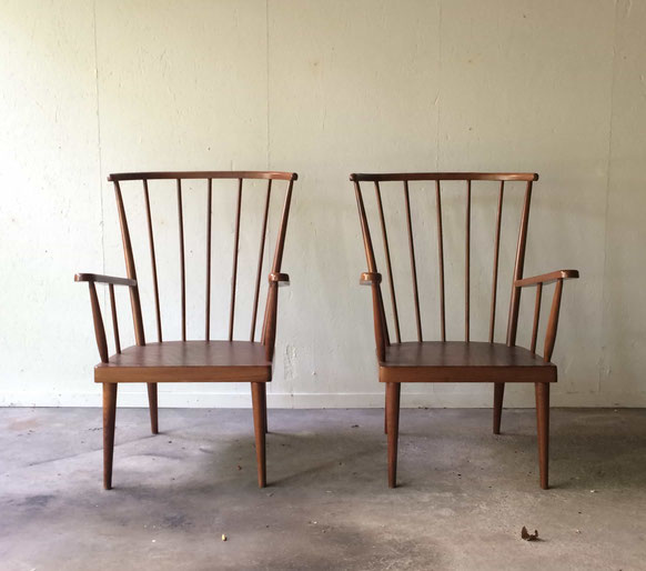 fauteuil Baumann, fauteuil éventail