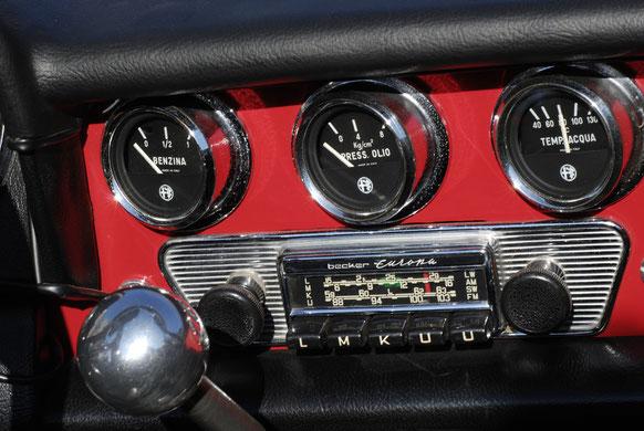 Alfa Romeo, intérieur