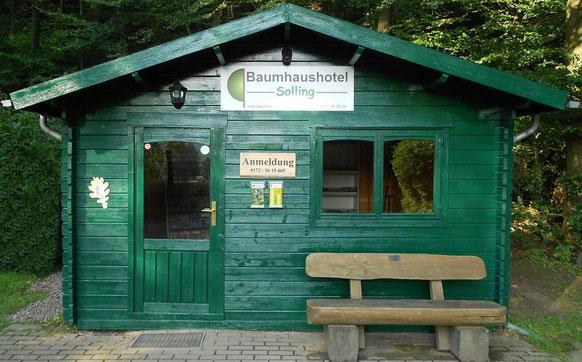 Anmeldung Baumhaushotel.