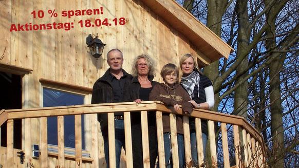 Die ersten Gäste, Familie Bergmann aus Ostfriesland, 18.04.2008