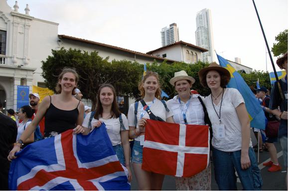 Elisabeth, Sara, Jule, Sophie und Hedwig in Panama