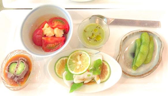お楽しみ前菜5種