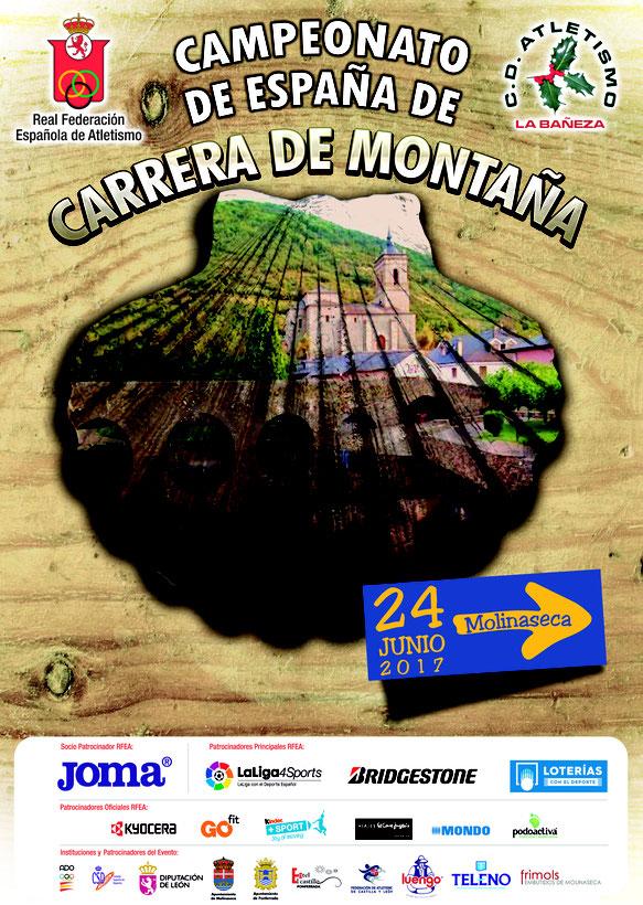 XIII CTO. DE ESPAÑA DE CARRERA DE MONTAÑA - Molinaseca, 24-06-2017