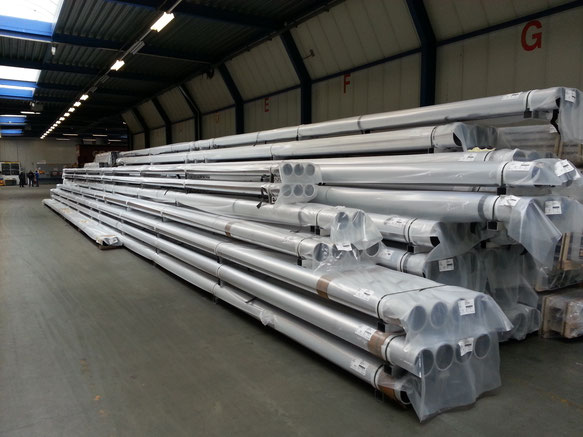 Picture of Aluminium Tubes with 21,50 meter lenght to Bintulu Malaysia