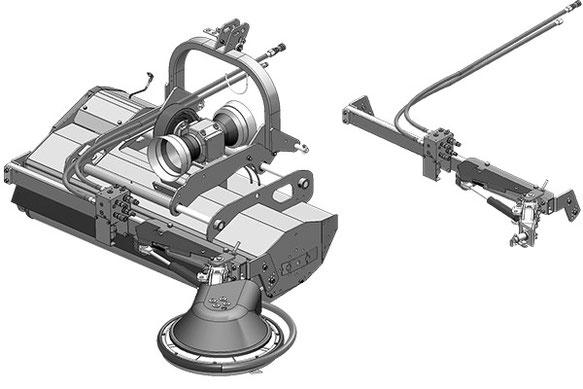 SEPPI M. Unterstockbearbeitung X-FAST direct Schnellkuppelsystem