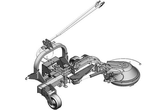 SEPPI M. Unterstockbearbeitung PORT-X direct Schnellkuppelsystem