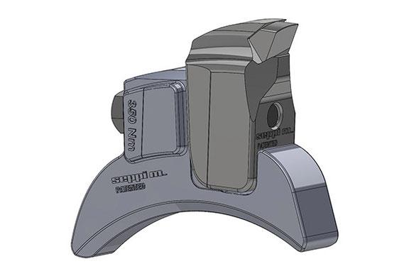 SEPPI M. V-Lock Werkzeughaltersystem