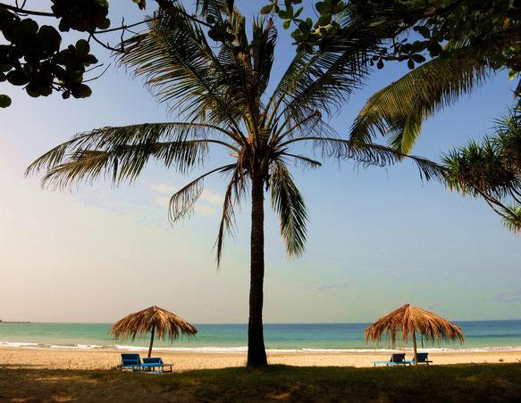 Der Strand von Ngwe-Saung