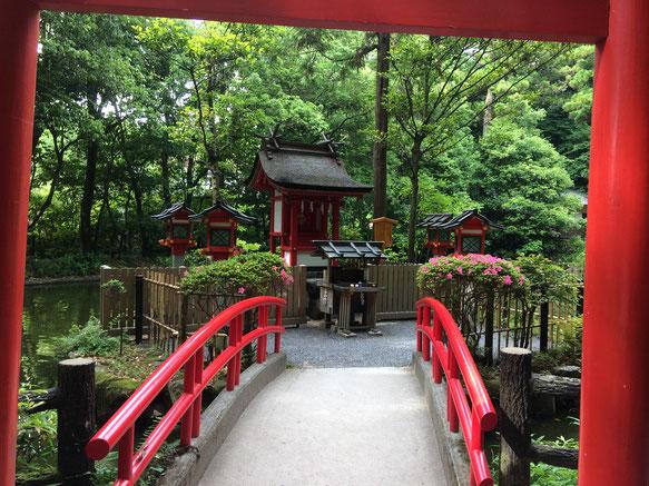 市杵島姫神社(筆者撮影)