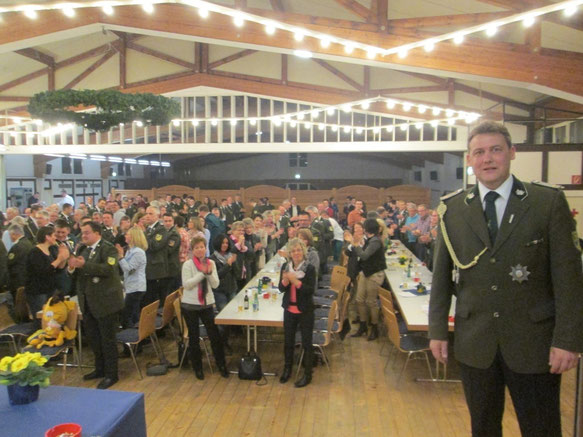 Jahreshauptversammlung 2014 ; Amtsübernahme des aktuellen 1.Vorsitzenden : Thomas Knebel