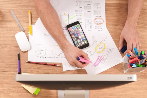 App Design, App Mockup, App programmieren lassen, App Entwicklung, App Programmierung Indien
