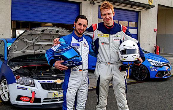 Dennis Bröker Sven Grossmann Chevrolet Cruze Eurocup 2019 Motorsportarena Oschersleben Toyo Tires Ravenol Pfister-Racing