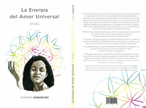 Ilustración y diseño del libro 'La Energía del Amor Universal' (Ediciones SOMOSUNO). Illustrations for the book 'The energy of Universal Love', by SOMOSUNO Edicions. 2012.