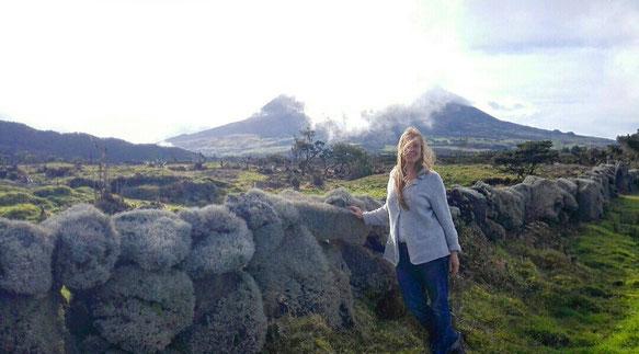 """die """"weichen Steine"""" im Hochland von Pico"""