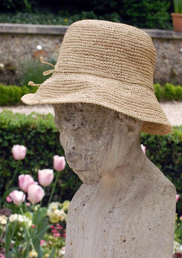 chapeau paille artisanal naturel